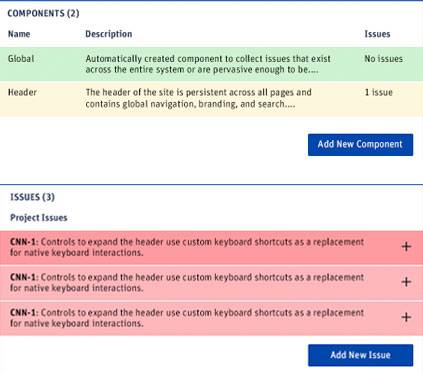 screenshot of of issues resolved and unresolved